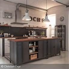 Küche Industrial Style - k 220 cheninsel industrial k 252 che loft k 252 che mit insel und