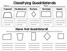 worksheets polygons and quadrilaterals 1025 classifying 2d shapes polygons triangles quadrilaterals oh my fourth grade math math