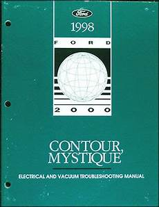 free download parts manuals 1998 mercury mystique free book repair manuals 1998 ford contour mercury mystique electrical troubleshooting manual 98 wiring ebay