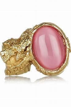 yves laurent rings pink ring oval rings