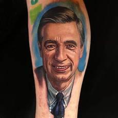 mr rogers tattoo by nikko hurtado sick tattoos pinterest