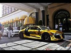 Gold Audi R8 Beverly