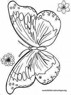Malvorlagen Schmetterling Einfach Schmetterling Vorlage Ausmalbilder Kostenlos Und Gratis