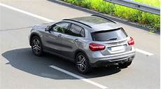 L Essai Grand Angle Du Mercedes Gla 2013 Ainsi Que Les