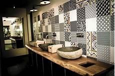 carrelage pour salle de bain moderne carrelage design 224 l inspiration g 233 om 233 trique pour la salle
