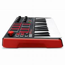 mpk mini 2 akai mpk mini mk 2 laptop production keyboard at gear4music
