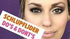Schminken Bei Schlupflidern - schlupflider richtig schminken