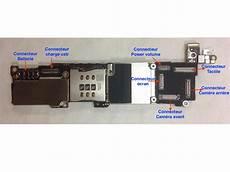 rparation soudure connecteur cran tactile sur carte mre