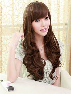 Korean Wavy Hairstyles simple but still stunning wavy hairstyles