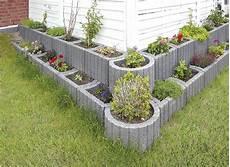 Beton Pflanzkübel Als Mauer - rechteck mini rechteck pflanzstein flora trend
