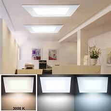 led für wohnzimmer 24 watt led panel decken einbau leuchte wohnzimmer raster