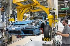 Porsche 718 Cayman Hits The Assembly Line Carscoops