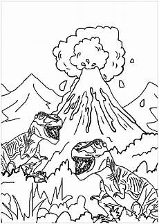 dinosaur colouring pages for toddlers 16822 dinosaurs to print for free dinosaurs and volcano dinosaurs coloring pages
