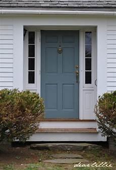 dear lillie jason s new front door color