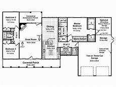 eplans country house plans eplans country house plan popular split bedroom floor