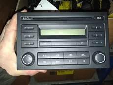used volkswagen polo 9n1 2 3 1 4 tdi 70 radio cd player