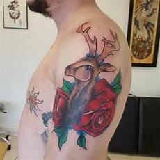 26 deer tattoos tattoo designs design trends