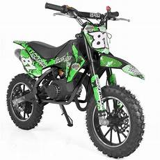 mini moto cross occasion moto cross enfant 50cc vert start 10 10 pouces vroomm fr