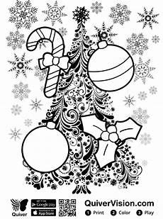Quiver Malvorlagen N De Malvorlage Quiver Weihnachten