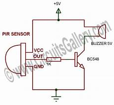 how to make a motion sensor alarm system at home using pir module circuits gallery