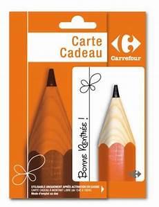 Carte Cadeau Carrefour Rentr 233 E Des Classes Le Des