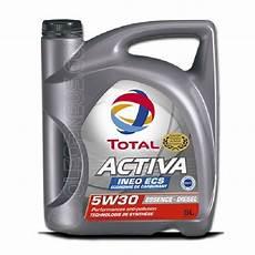 Total Huile Moteur Activa Ineo Ecs 5w30 Essence Et Diesel