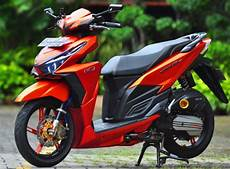 Modif Stiker Vario 150 by Foto Modifikasi Honda Vario 150 Cutting Sticker Paling