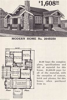 sears bungalow house plans man restores his grandparents 1916 flat pack home from