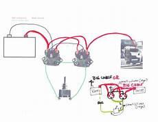 winch solenoid wiring diagram detailed schematic diagrams