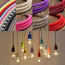 Couleur De Fil électrique 10m Vintage Colorful Twist Braided Fabric Cable Wire