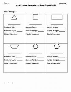 7 best images of second grade shapes worksheets math shapes worksheet first grade 2