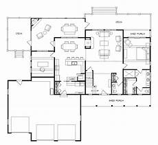 open floor house plans with walkout basement lake house plans walkout basement lake house floor plan
