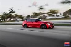 2017 Bmw M3 Facelift In Gets Custom Vossen Wheels