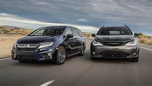 2019 Chrysler Pacifica Vs Honda Odyssey Comparison