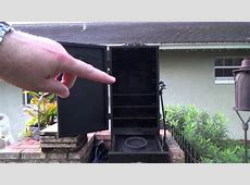 Char Broil gas smoker   YouTube