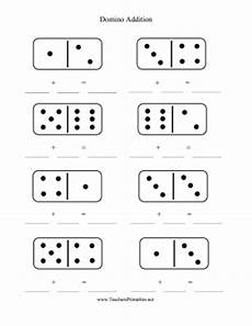 domino subtraction worksheets for kindergarten 10504 domino addition worksheet