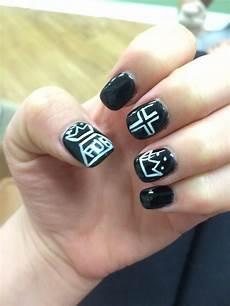 fall out boy nail art band nails emo nail art nails