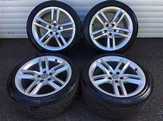 18 genuine audi a5 s line alloy wheels and tyres 5x112