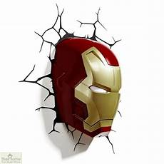 marvel iron man wall light the home furniture store