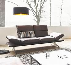 canapé design confortable canap 233 ultra design ad senso 2 places cuir ou tissu