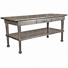stainless steel furniture and accessories for the kitchen vintage stainless steel kitchen table at 1stdibs