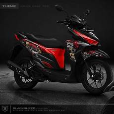 Modif Stiker Vario 150 by Vario 150 Joker Cutting Sticker Vario150 Honda