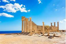 Lindos Acropolis In Greece Greeka