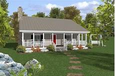 small ranch house plan two bedroom front porch 109 1010