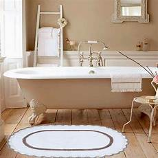 tappeti shabby chic sobel tappeto da bagno shabby chic ovale di stefano