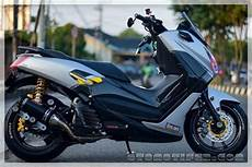 Modifikasi Nmax 2019 by Modifikasi Nmax 2020 Simple Touring Modif Jari Jari