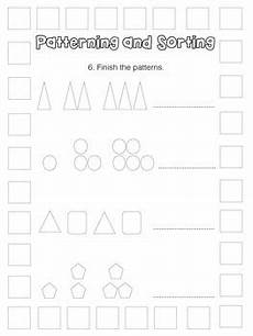sorting patterns worksheets 7863 patterning and sorting test for grade 2 by miss page s classroom