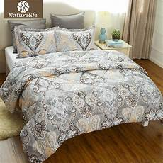 alternative comforter new home design naturelife luxurious flower pattern comforter duvet set 3