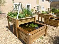 jardin potager sur terrasse le bassin potager selon le principe de l aquaponie