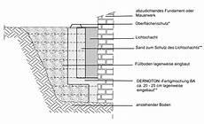 beton fertigmischung fundament dernoton arbeiten am lichtschacht